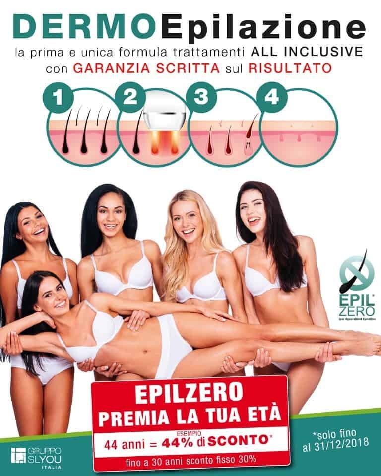 promozione epilazione laser epilzero