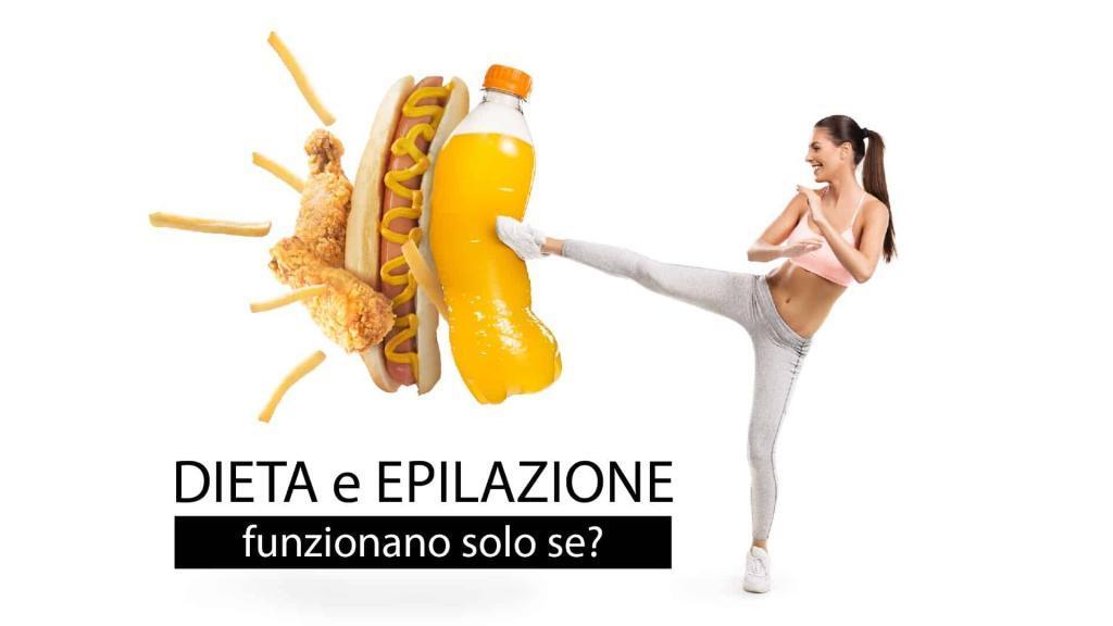 dieta e epilazione
