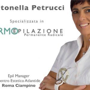 Antonella Petrucci Centro Epilazione Epilzero Atlantide